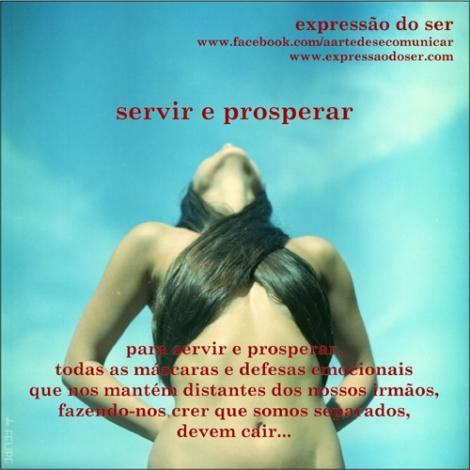 servir e prosperar